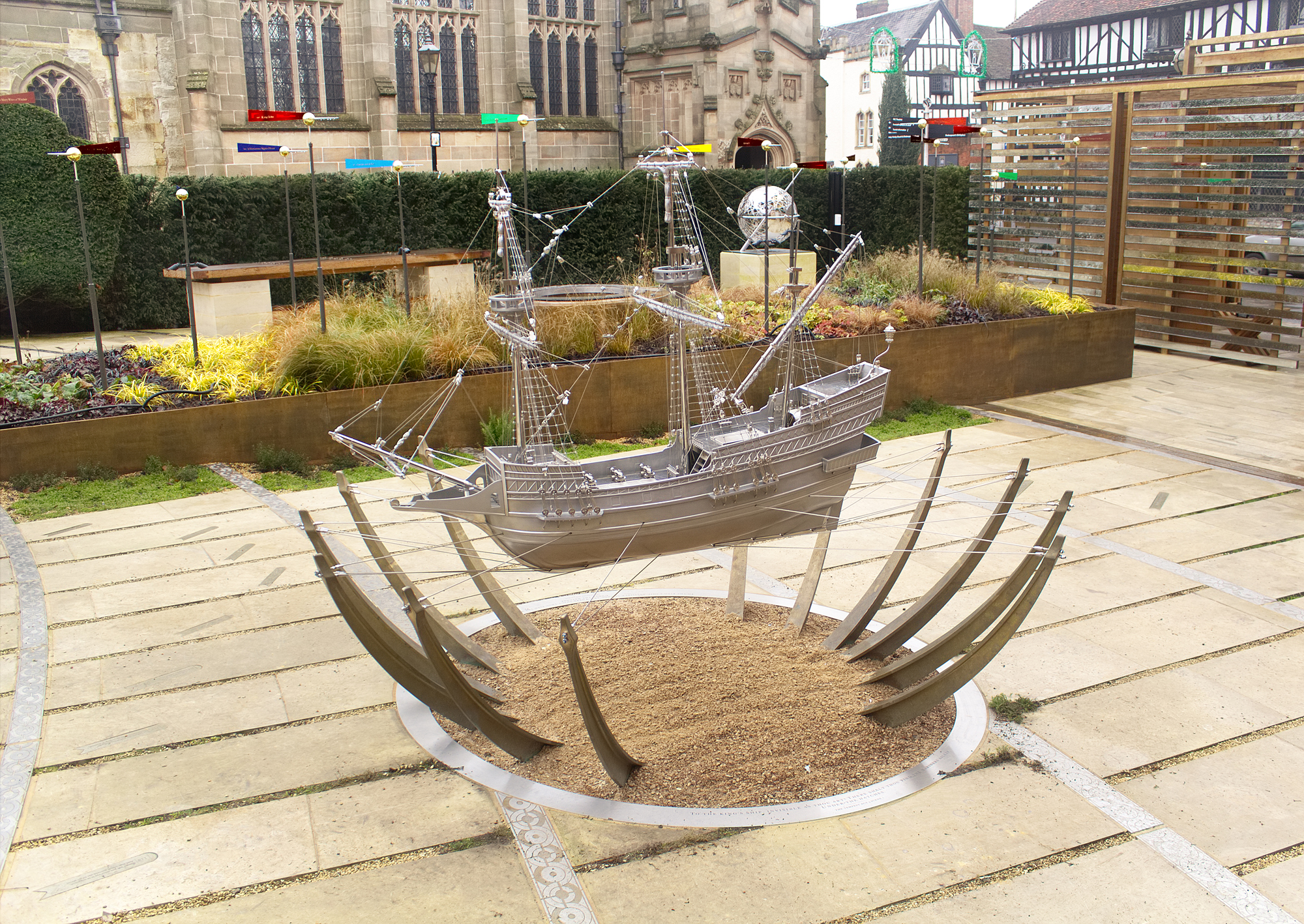 The Silver Ship For The Shakespeare Birthplace Trust